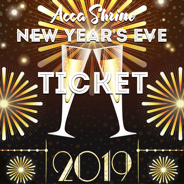 new years eve dance ticket