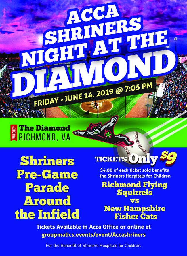 Shriners Night at the Diamond