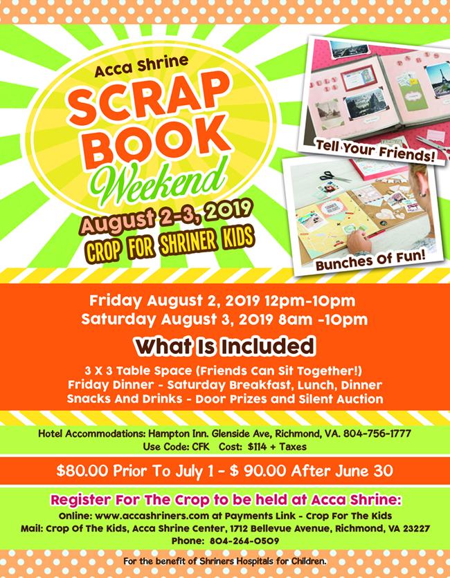 Scrap Book Weekend