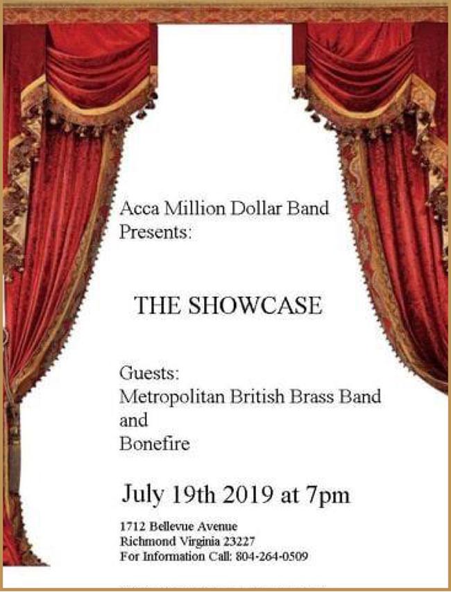 Million Dollar Band Showcase