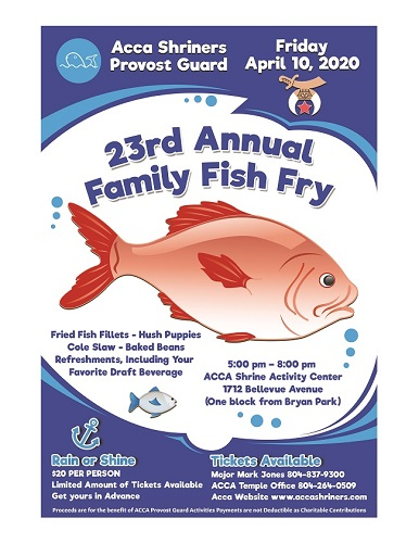Provost Family Fish Fry