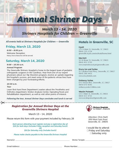 Annual Shriners Days